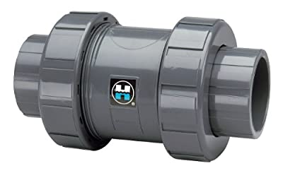 """Hayward True Union Ball Check Valve, 1"""" socket and NPT(F) connectors by COLE-PARMER"""
