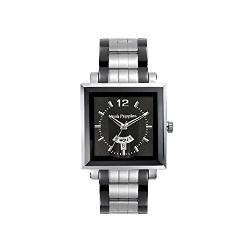 Hush Puppies Cuarzo reloj HP - 3568M Freestyle hombres 00-1502 NEGRO