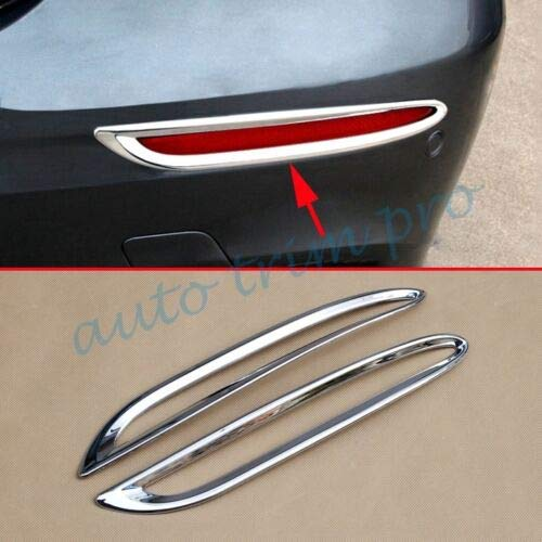 Chrome Accessories Rear Tail Fog Light Cover Trim Fit for Mercedes for Benz E-Class Sport W213 2017 Foglight Parts Decoration