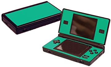 Teal Turquoise Vinyl Decal Faceplate Mod Skin Kit for Nintendo DS Lite (DSL) Console by System Skins