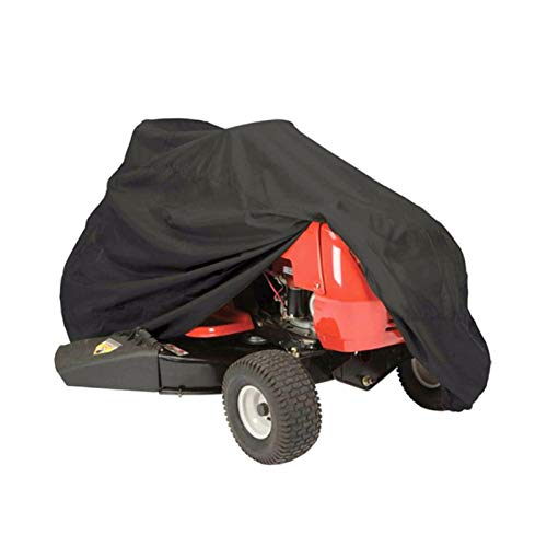 Tractor Covers Lawn Mower Cover for Yard Garden Tarpaulin Waterproof Furniture Protection Motorcycle Quad Bikes GHHZZQ (Color : Black, Size : 220x98x106cm)