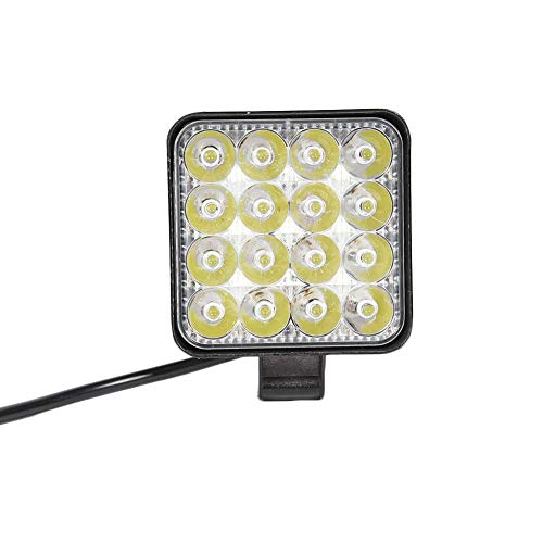 Ahomi 16 LED Work Lamp 48W 2880LM 6500K waterdicht plaats vrachtwagen auto mini spotlight