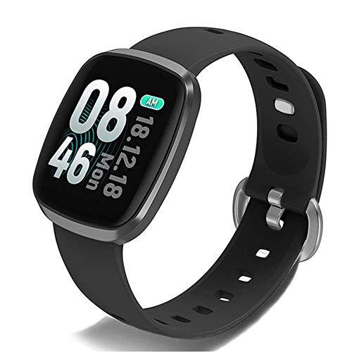 Inteligente reloj rastreador de ejercicios for la Mujer Hombre con los relojes de la pantalla monitor de ritmo cardíaco podómetro reloj de la aptitud for IP67 Waterprooftouch fengong ( Color : Grey )