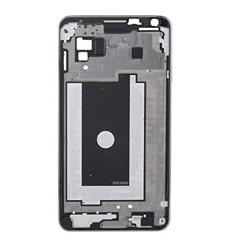 BEIJING  SCREENCOVER+ / Tablero Medio LCD con el Cable del botón de Inicio para Galaxy Note 3 / N9005, Reemplazo LCD Placa Placa ATRÁS BIELEL (Color : Negro)