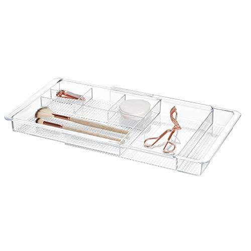 iDesign Kosmetik Organizer, ausziehbare Schubladenbox aus Kunststoff, praktisches Schminktisch...