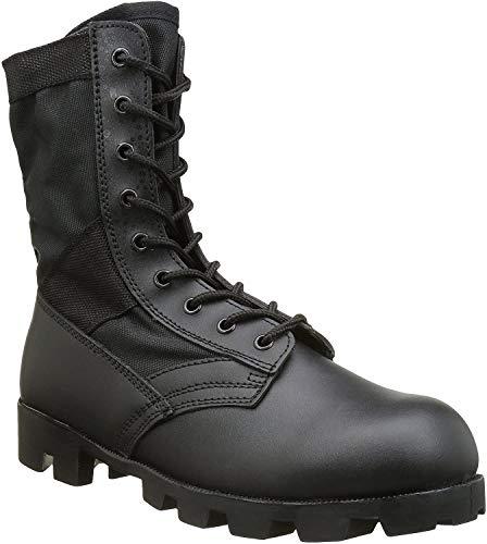 Mil-Tec US Army Combat Assault Vietnam Jungle Boots Mens Security Cadet Black