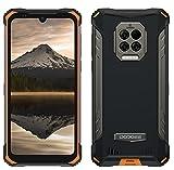 DOOGEE S86 Pro Outdoor Smartphone ohne Vertrag, Infrarot-Stirnthermometer, 8500mAh Akku, 8GB+128GB, IP68undIP69K Wasserdicht Handy, 2W Lautsprecher, 16MP Quad-Kamera, 6.1'' Gorilla Glas NFC Orange
