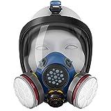 Blazin Full Face Respirator Gas Mask   Prepper Essential Protection   Tear...