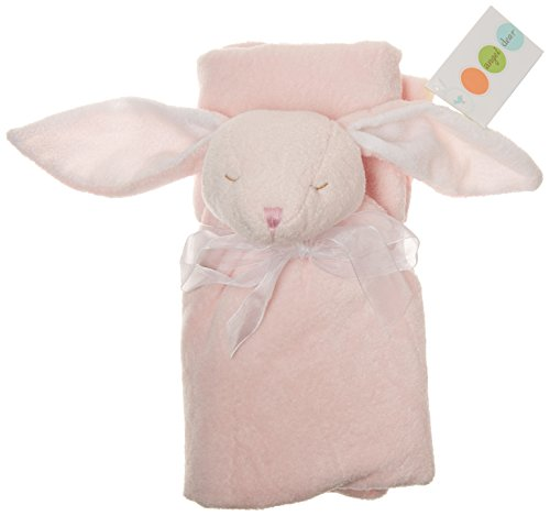 Angel Dear Bunny Nap Blanket, Pink