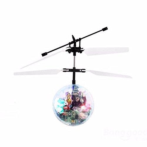 REALACC 2CH Induced Mini Ball Elicottero Aerocraft Abbagliante Radiocomandati Telecomandati Flying Colorful Palla