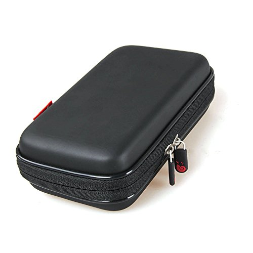 Hermitshell Hard Travel Case for Etekcity Lasergrip 1080 / Etekcity Lasergrip 774 Non-Contact Digital Laser Infrared Thermometer (Only Case) (Black)