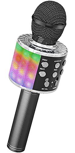 Karaoke Bluetooth Mikrofon, Ankuka...