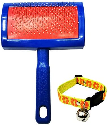 Chanok Dog Brush for Shedding Short Hair Free Dog Collar Grooming Tool Easy To Clean Cleaning product image