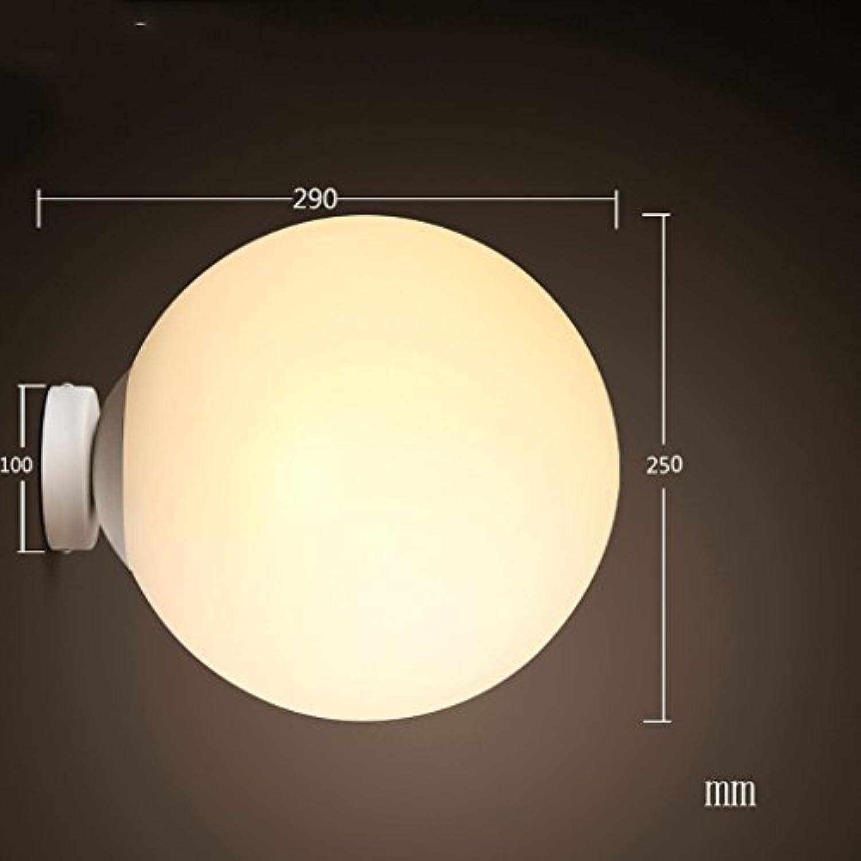 A Nordic Schlafzimmer Wand Korridor Wandleuchte Nachttischlampe Mode Einfache Led Wandleuchten (Farbe   Warmes Licht-M)