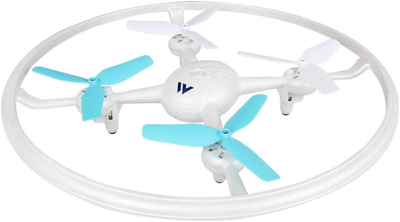 NBKLS Drone remoto a Un Pulsante di Ritorno aeromobili Mini Quattro Assi a Distanza Fissa-Aereo Telecouomodo Aereo RC con luci