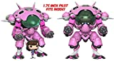 "Figurines POP! Vinyle Games Overwatch D.Va & 6"" Meka"