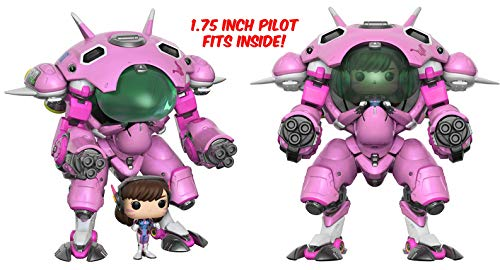Funko POP Games: Overwatch D.VA & Meka 6' POP and Buddy Toy Figure