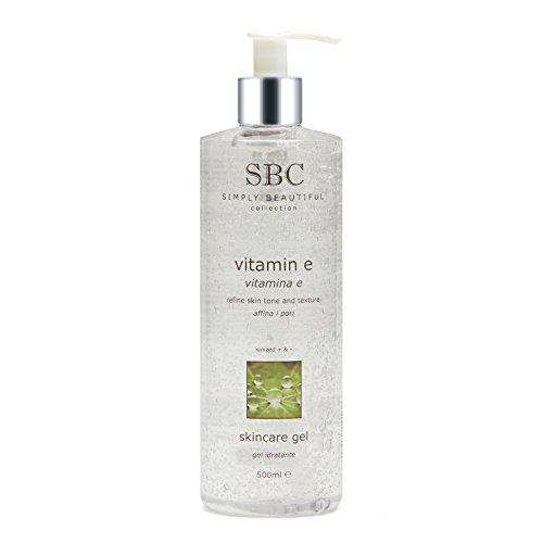 SBC Vitamin E Moisturising Skincare Gel (500ml)
