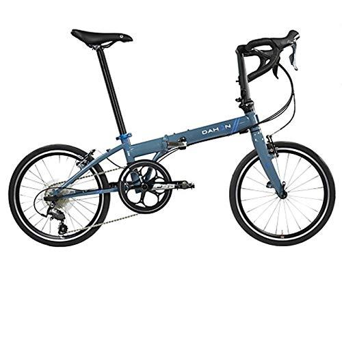 "Dahon Unisex Fahrrad Speed D30 Faltrad, Blau, 30 Gang, 20"", 942256"