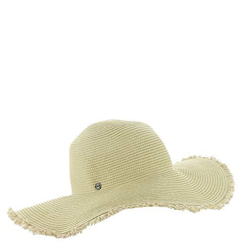 Roxy - Sombrero retro para mujer, S/M, color natural