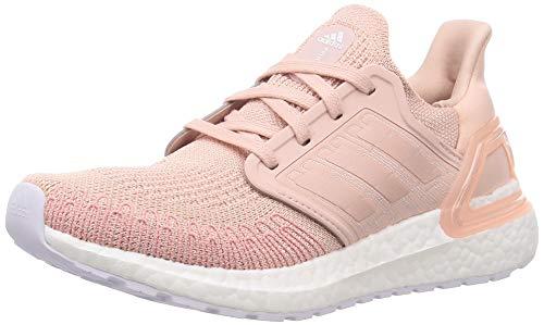 adidas ULTRABOOST 20 W, Women's Sneaker, Rosvap/Rosvap/Ftw Bla, 5 UK (38 EU)