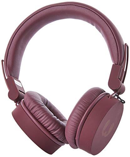 Fresh 'n Rebel Bundle Kopfhörer, Tragbarer Bluetooth Lautsprecher für Smartphone/Tablet rot
