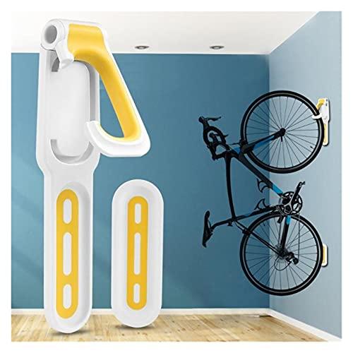 Soportes de pared para bicicletas Bike Wall Hook Holder Soporte práctico Montaña Bicicleta Montado Montado Montado Estante Colgador Necesario Suministros de Ciclismo Al Aire Libre para interior / gara