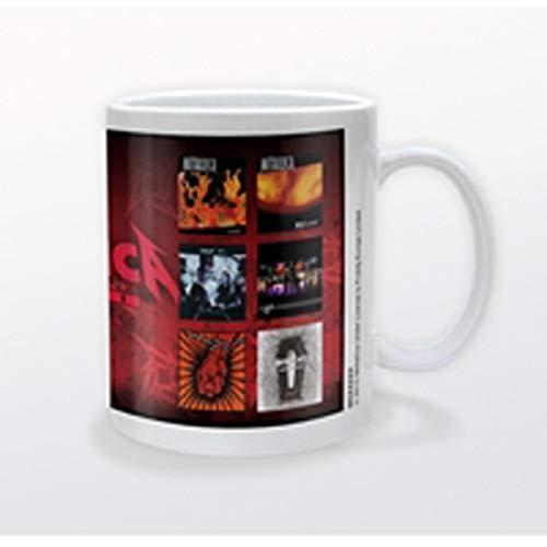 Metallica Kaffeetassen, Mehrfarbig