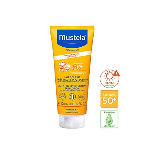 Mustela Lait Solaire SPF50+ Tube 100 ml