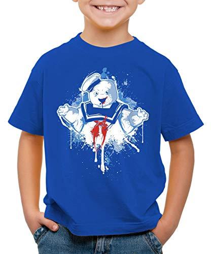 style3 Stay Puft Hombre de Malvavisco Camiseta para Niños T-Shirt Cazafantasmas azucarillo