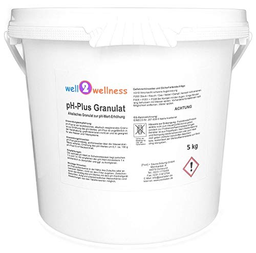 well2wellness pH Plus Granulat/pH Heber Granulat 5,0 kg