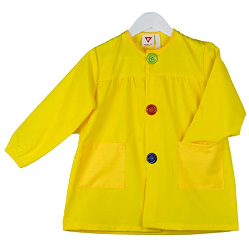 KLOTTZ - BABI LISO GUARDERIA Niñas color: AMARILLO talla: 4
