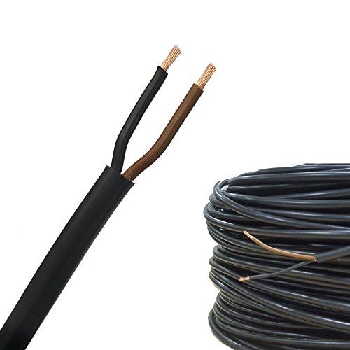 AUPROTEC® Schlauchleitung Fahrzeugleitung FLYY 2x1,5 mm² (5m Rundkabel)