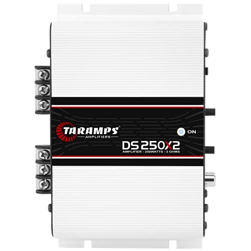 Módulo Taramps DS 250x2 2 ohms 250 W RMS 2 Canais Amplificador Som Automotivo