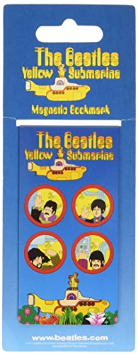 Yellow Submarine Portholes Magnetic Bookmark