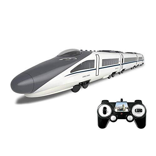 Darenbp RC tren eléctrico de juguete de 2,4 GHz de tren de...