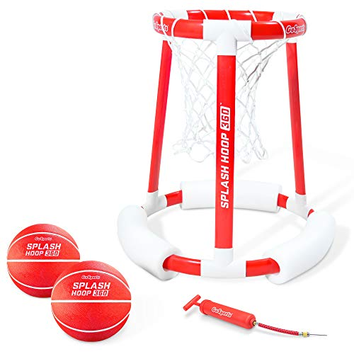 top rated GoSports Splash Hoop 360 Swimming pool, water basketball hoop, basketball game with two balls … 2020