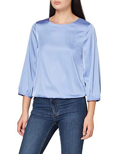 OPUS Damen Fanoka SP Bluse, Blue Mood, 42