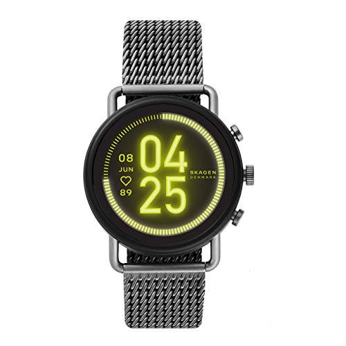 Skagen Smartwatch Touchscreen Connected Uomo con Cinturino in Acciaio Inossidabile SKT5200