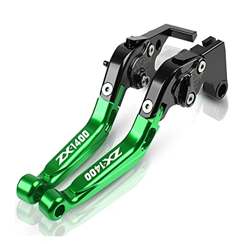 Embrague Motocicleta para K&awas&AKI ZX1400 ZX14R 2006 2007 2008 2009 2010 2011 2012 2013 2014 2015 2016 Palancas de Embrague de Freno Ajustables CNC para Motocicleta Palanca (Color : X)