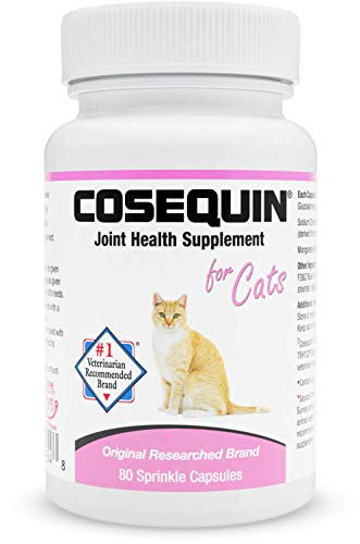 Nutramax Laboratories Cosequin Sprinkle Capsules for Cats