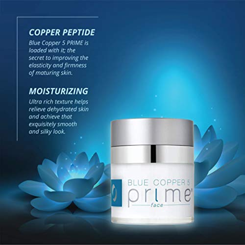 Osmotics Blue Copper 5 Prime Face, Anti Aging Face Cream For Men and Women, Best Cream For Wrinkles, Firming, Acne, Age Spots, and Skin Tone, Day