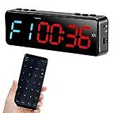 BTBSIGN Bluetooth Gym Timer APP Control Workout Timer USB Rechargeable Battery Clock Stopwatch
