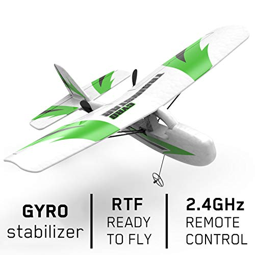 VOLANTEXRC Mini RC Airplane Traninstar Micro 2.4GHz 2CH Remote Control Airplane Ready to Fly with Gyro Stabilization for Kids and Adults, Indoor & Outdoor Toys (781-3)