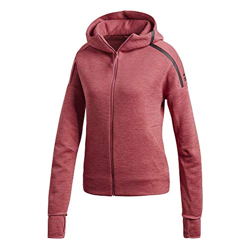 adidas Z.N.E. Fast Release Sudaderas con capucha Mujer Rosa, XL