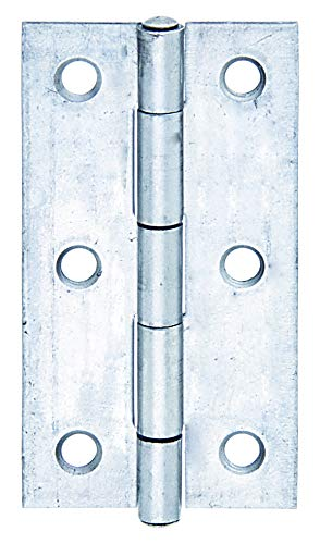 GAH-Alberts 361181 Scharnier | schmal | Edelstahl | 60 x 34 mm | 10er Set