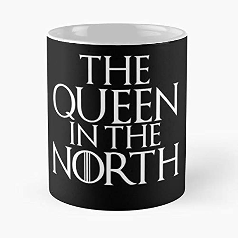 Game Thrones Queen North - Funny Gifts For Men And Women Gift Coffee Mug Tea Cup White 11 Oz.the Best Holidays.