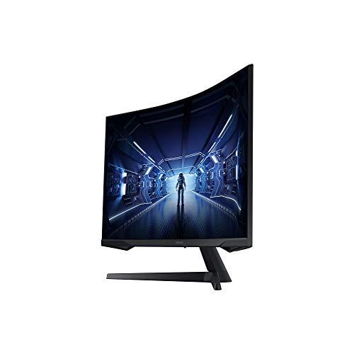 Samsung Odyssey C32G53T 32 Zoll 1000R Curved Gaming Monitor mit 2560x1440p Auflösung, 144hz Bildwiederholrate, 1ms Reaktionszeit - 16