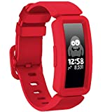 GVFM Compatible with Fitbit Ace 2 Bands for Kids 6+, Soft Silicone Waterproof Bracelet Accessories Sport Strap Boys Girls bands Compatible for Fitbit Ace 2