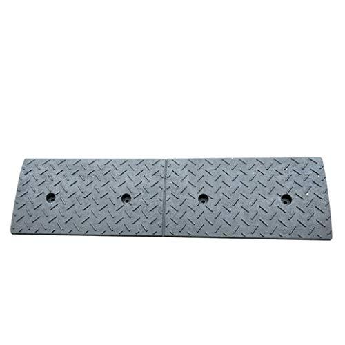 Rampas pesados, espesa el exterior del coche en orden de marcha rampas de accesibilidad Rampas for silla de ruedas de goma Paso Rampas Rampas multifunción Servicio (Size : 100 * 30 * 10CM)